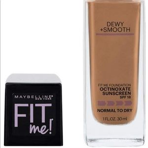 Maybelline New York Fit Me Foundation, Toffee
